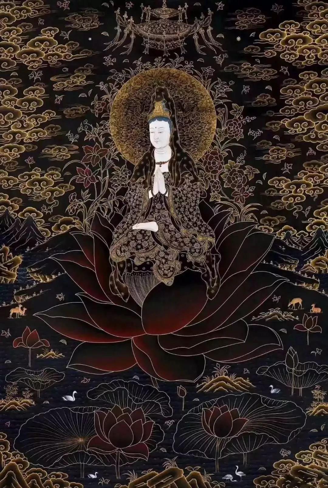 六字大明咒唵嘛呢叭咪吽是大慈大悲观世音菩萨咒,源于梵文,象征一切诸菩萨的慈悲与加持.图片