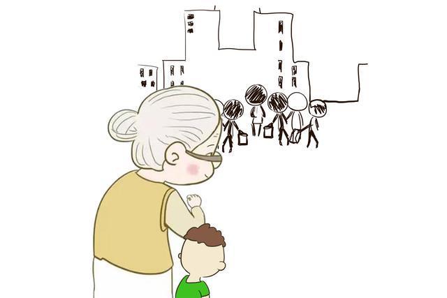 小时候被姥姥带大的孩子,凭什么长大后就得和爷爷奶奶亲?你配吗
