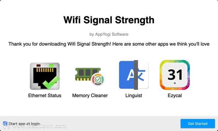 Wifi Signal Strength for Mac(实用的WiFi信号监测工具)_地址