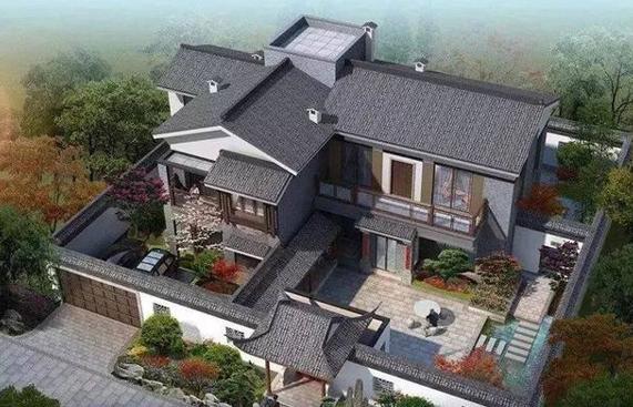 农村2层房设计图