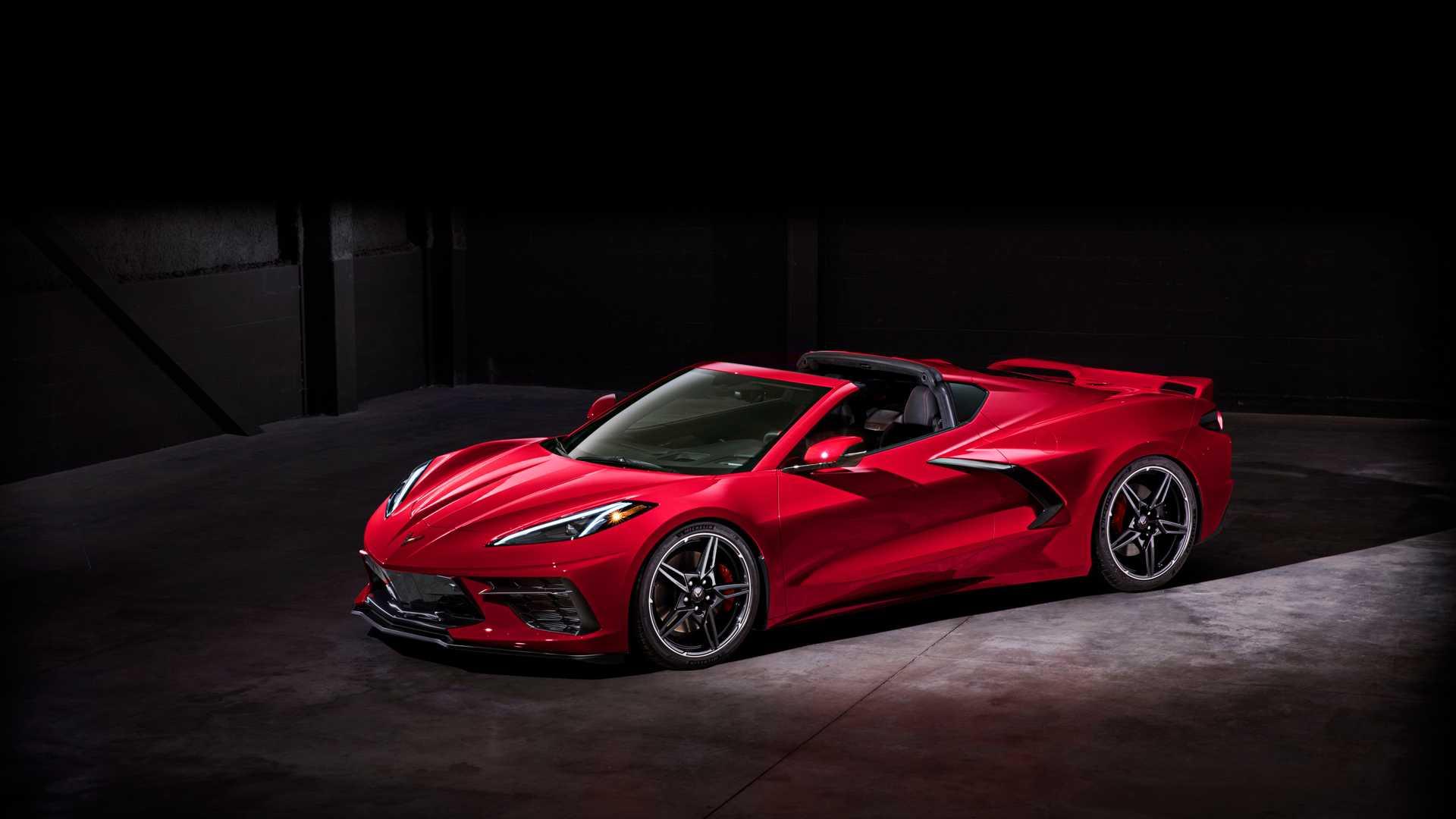 2020款雪佛兰Corvette C8 性价比最高中置发动机