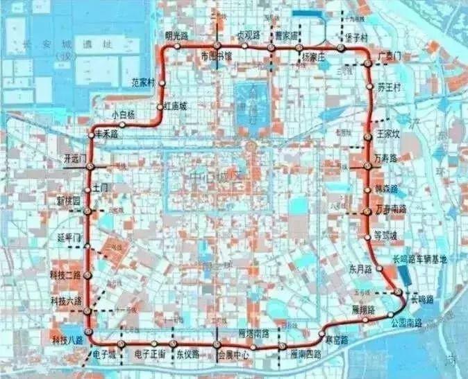 14号西安活动策划线年西安还要建设这些线路 行业新闻 丰雄广告第5张