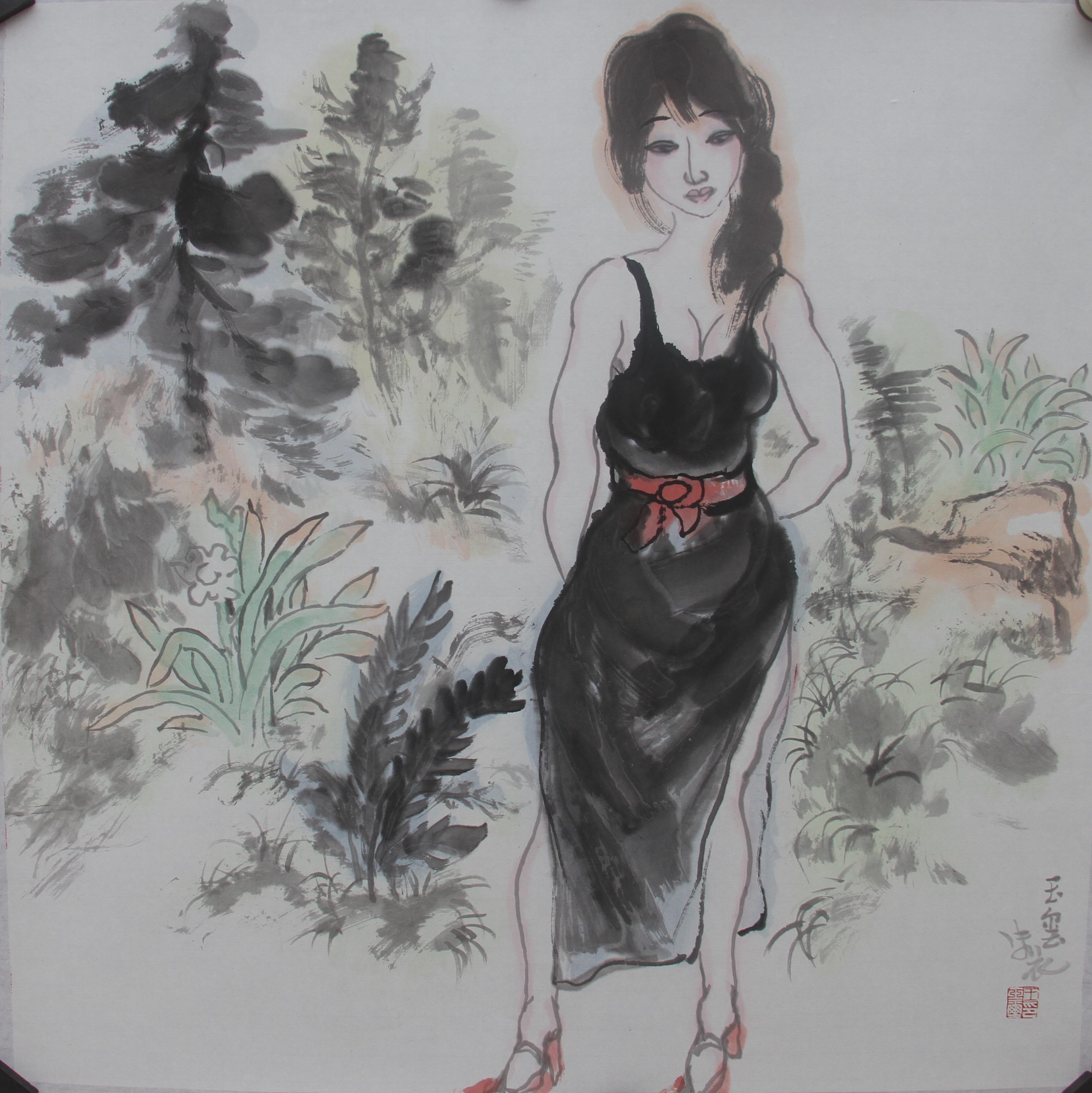 少女漏b艺术_而画家王玉玺骨子里透出的冷峻和辛辣,更兼具一种匠心独运的艺术调侃