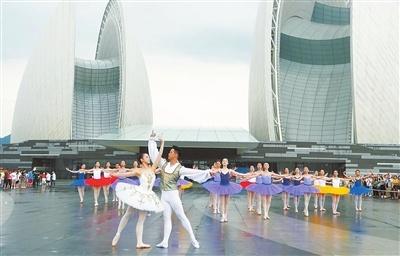 """央视""""七彩七夕·幸福中国""""晚会在珠海录制分会场节目"""