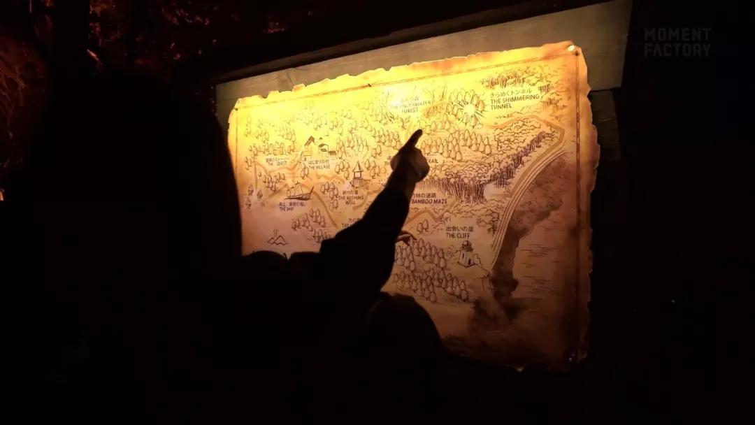 Lumina 景区夜游引导地图