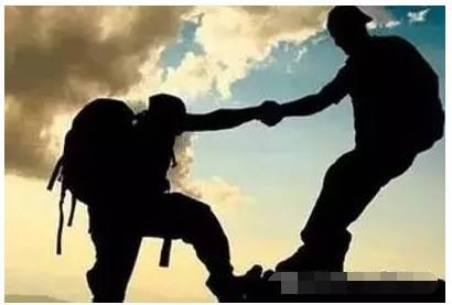 成功需要:高人指点、贵人相助、个人奋斗......