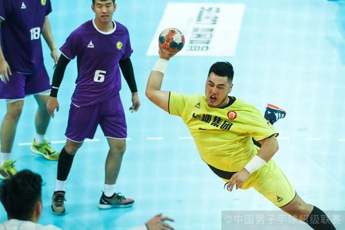 99814皇冠比分二一2019中国男子手球超级联赛苏州站 中国华体轻取广东