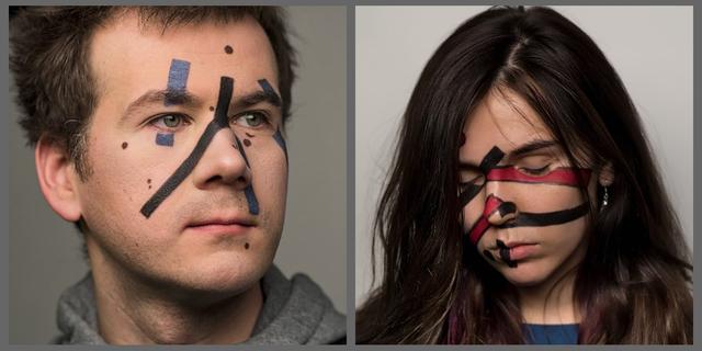 原创            想躲过AI智能监控?试试俄罗斯工程师发明的反脸部识别特殊化妆术