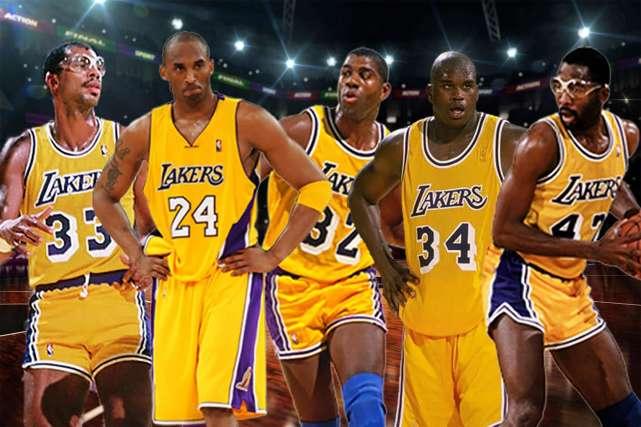 篮球世界杯:NBA过去41年湖人共