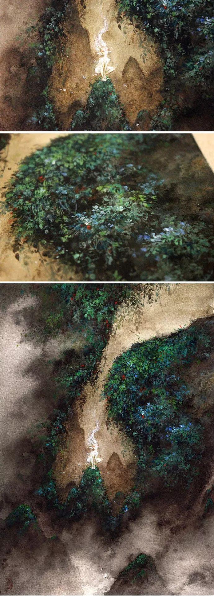 90后画师杉泽:一支画笔,号令百鬼,颠倒众生