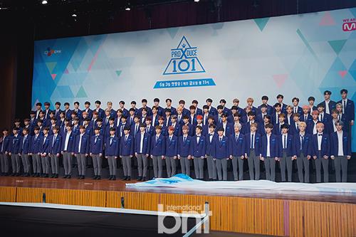 《Produce X 101》出道组XI确定于8月27日举行高尺巨蛋公演