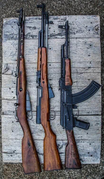 AK步枪和SKS步枪,性价比到实用性,谁才是步枪之王