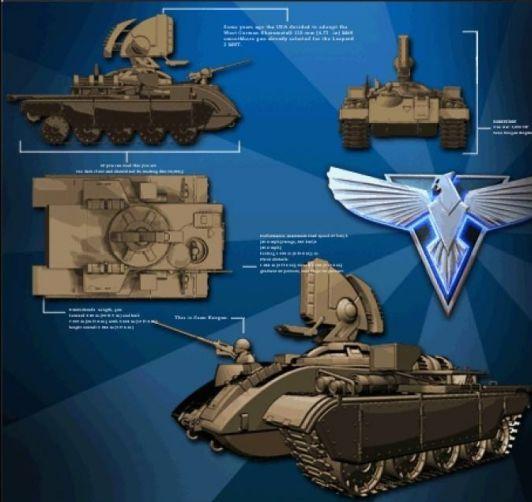 红警中的光棱坦克现实里竟真的有?苏军1K17型激光坦克传奇