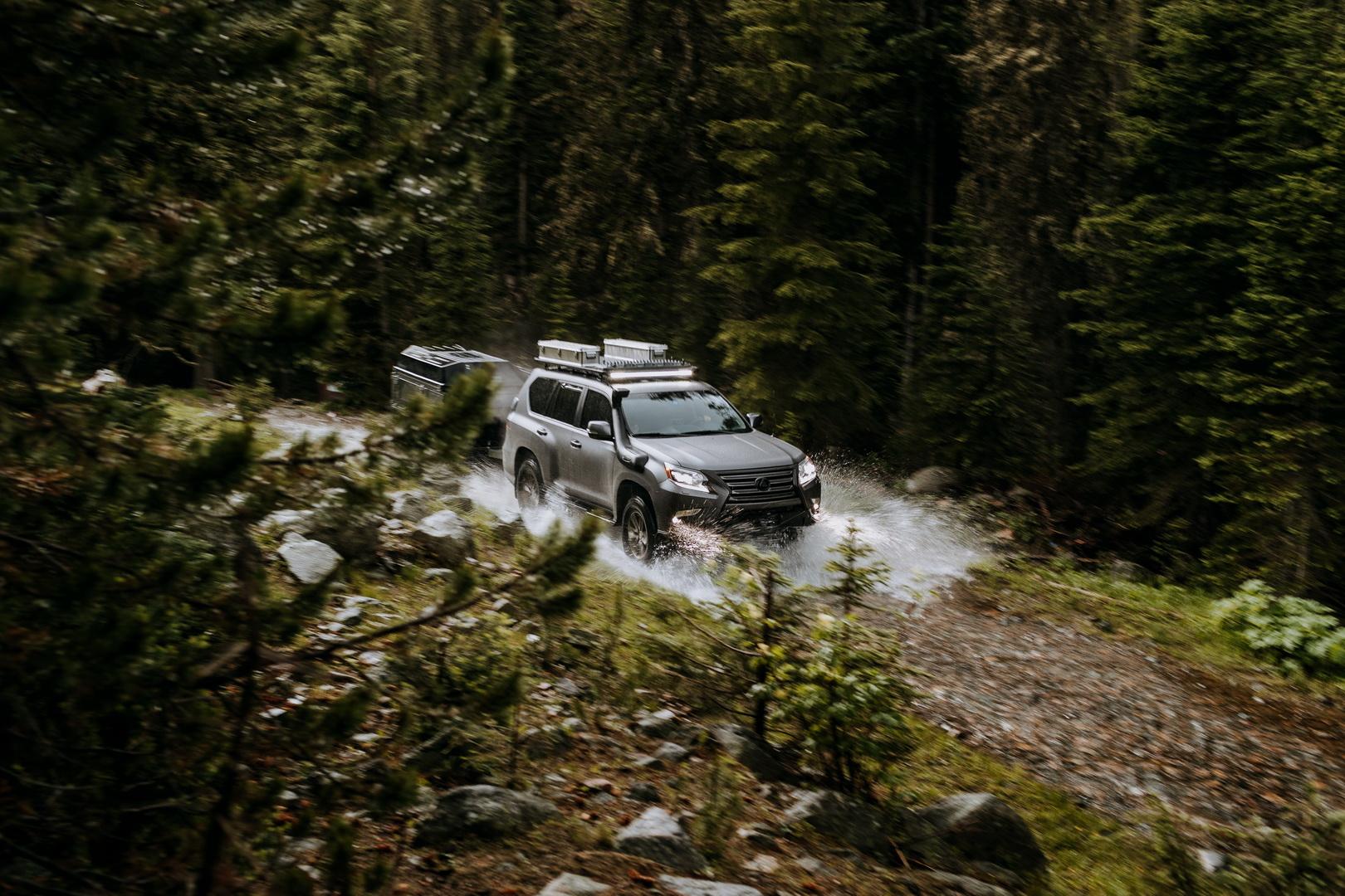 雷克萨斯GX OR豪华SUV 越野改装跋山涉水