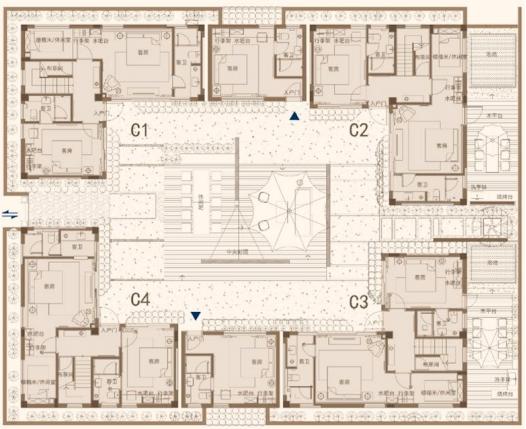 5间4合院设计图
