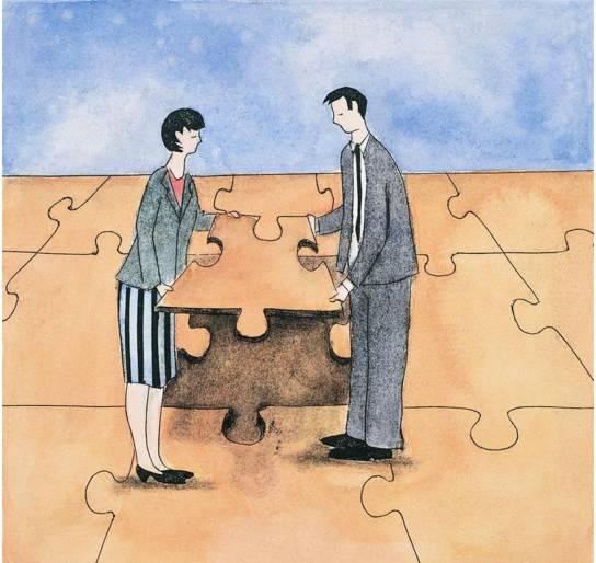 与人合作:人品第一,态度第二,能力第三