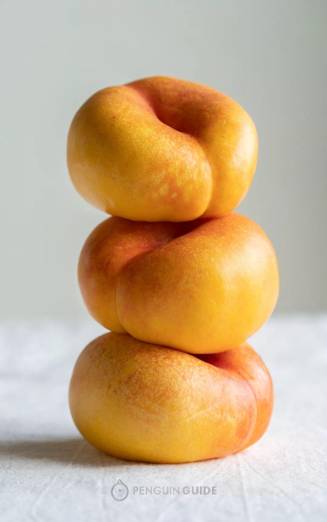 黄桃+油桃+蟠桃,一口等于吃了三种桃!