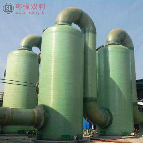 怎么能提高玻璃钢烟气脱硫塔脱硫效率-枣强双利