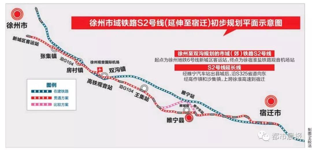 <b>徐州轨道交通S2号线最新消息!</b>