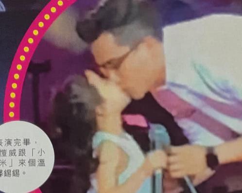原创             刘恺威亲嘴女儿引热议,贝克汉姆也这么做了,张亮节目里坚决反对