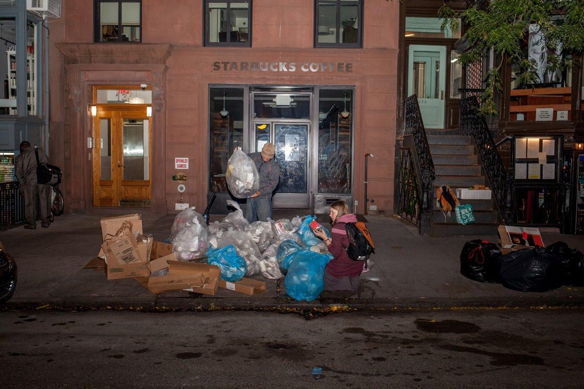一组照片直击美国人是怎样浪费食物的