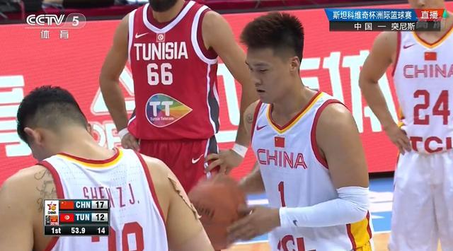 中国队大胜突尼斯!最后6秒赵睿放弃进攻,突尼斯球员主动伸出手