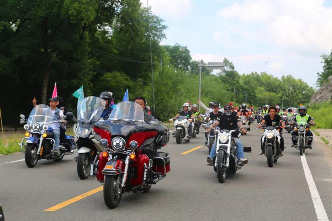 【微讯】铁力林业局公司举办依吉密第四届摩托车骑行节