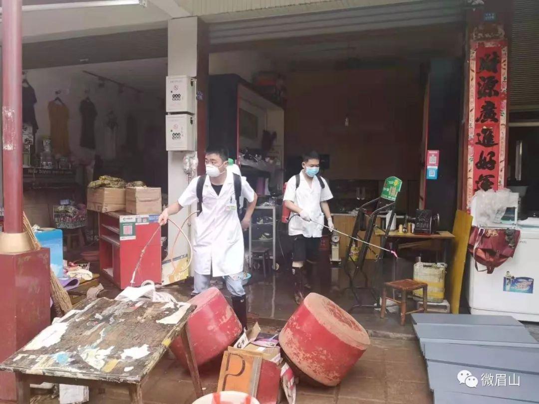 丹棱县灾后防疫、生产自救工作有条不紊!