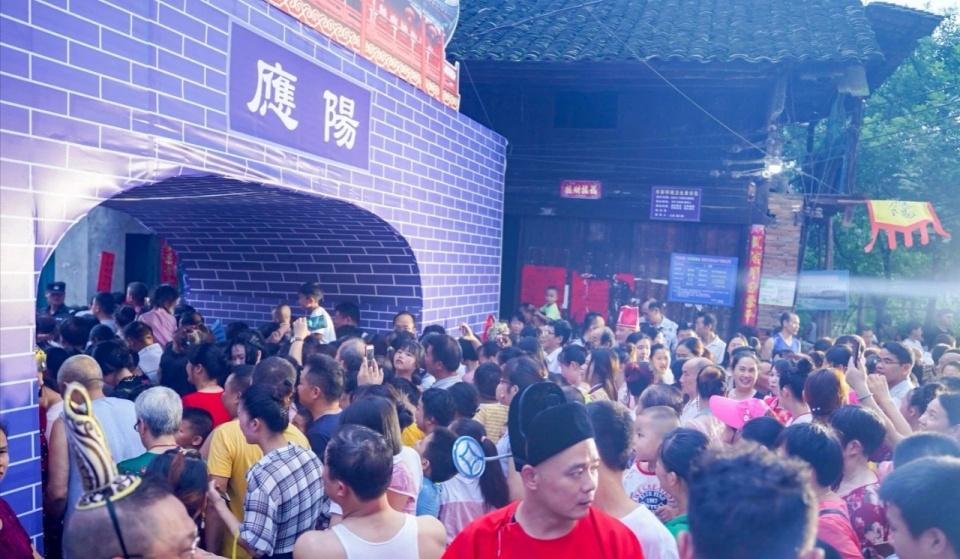 永州东安|芦洪市老街传统庙会续写千年应阳新篇章
