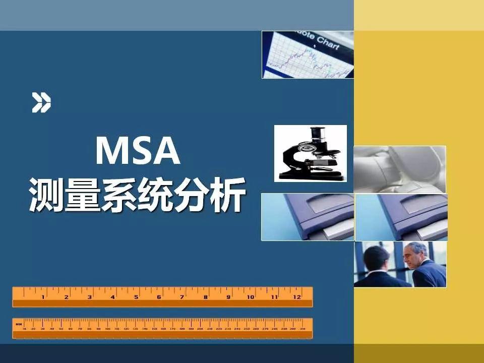 这份整体+细节讲解MSA的培训资料,好评!