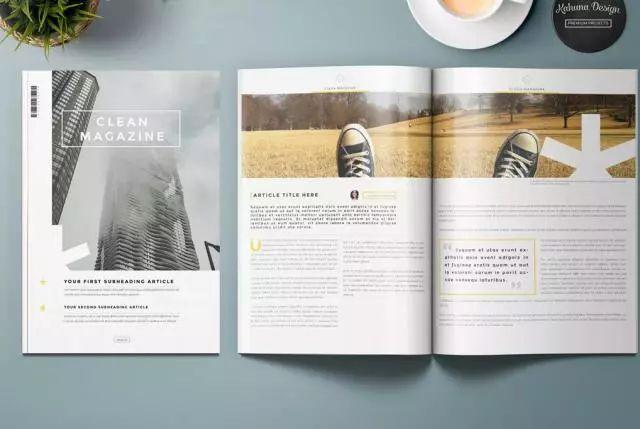 时尚 正文  竖式排版,一般用宣传画册或设计作品集, 表达内容丰富图片