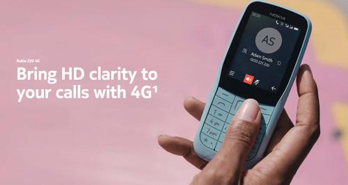 Nokia 220 4G功能机发布 支持4G网络及HD通话