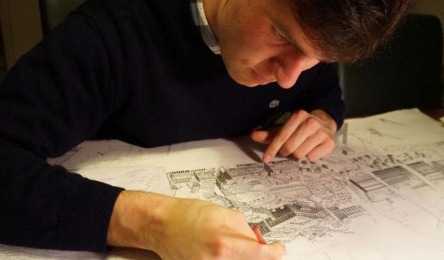 """10张细致爆表的插画!荷兰这位插画师被上帝赐予了""""神手""""?"""