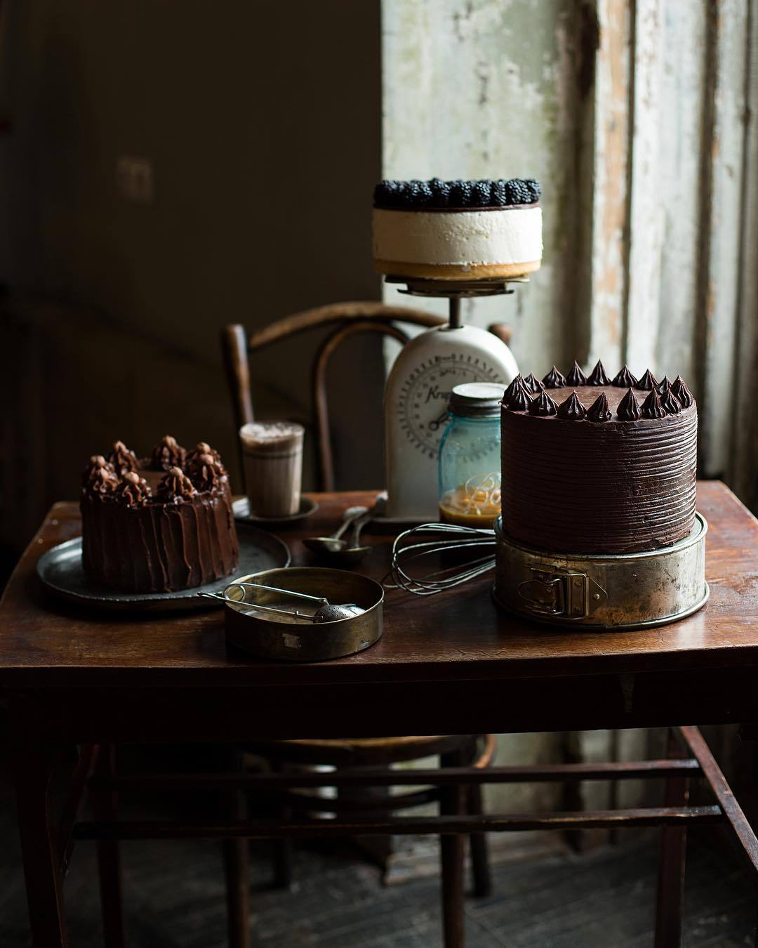 宠物-这位漂亮的美女蛋糕师,让猫咪来为蛋糕代言,将平淡无奇的蛋糕化腐朽为神奇(61)