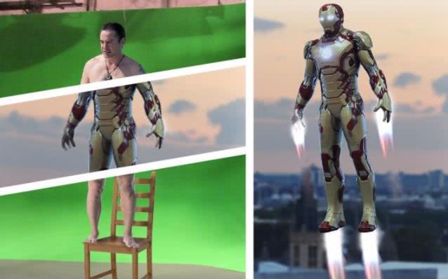 动漫-漫威去掉特效,惊队的猫超级搞笑,钢铁侠飞起时原来是踩在椅子上(2)