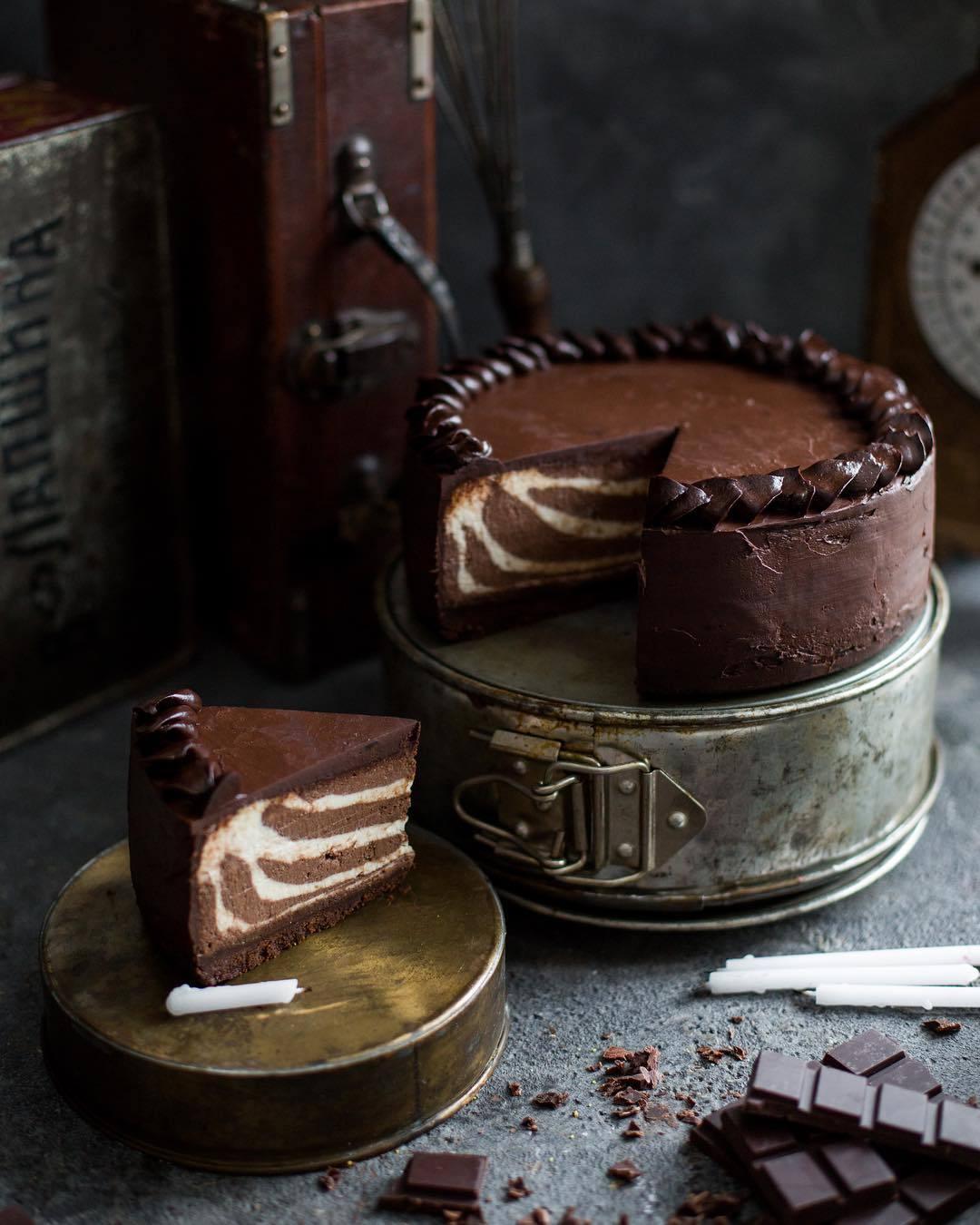 宠物-这位漂亮的美女蛋糕师,让猫咪来为蛋糕代言,将平淡无奇的蛋糕化腐朽为神奇(47)