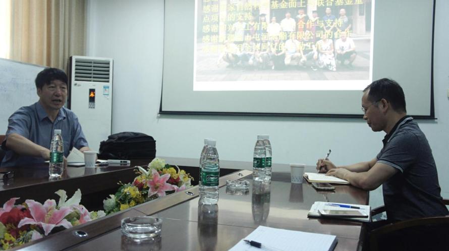 生物材料知名专家郭宝华教授访问光华伟业孝感生产基地