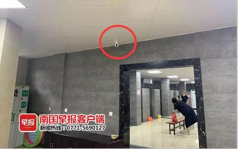 景区浴室里发现摄像头,16名女游客报警