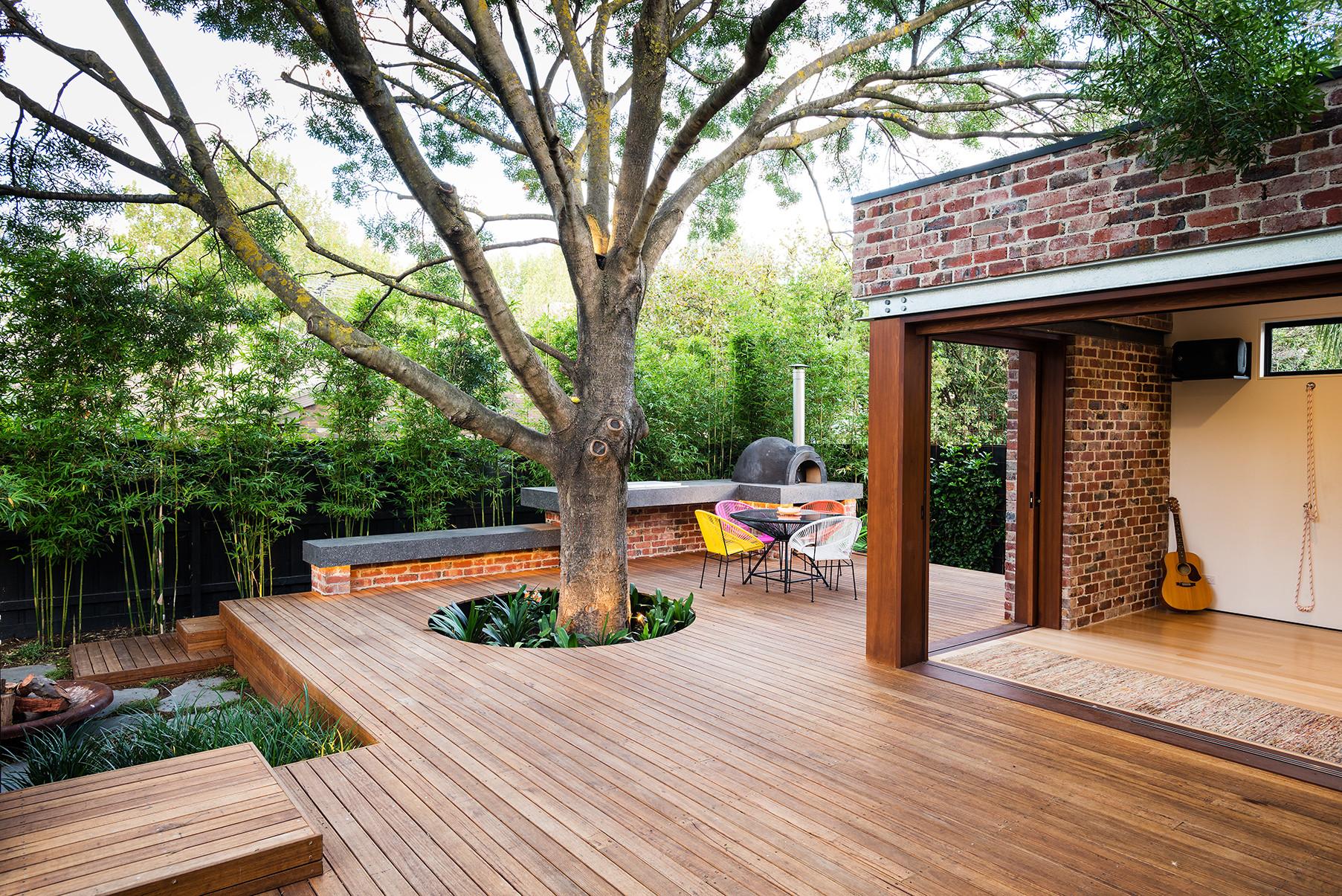 开放式庭院设计图片