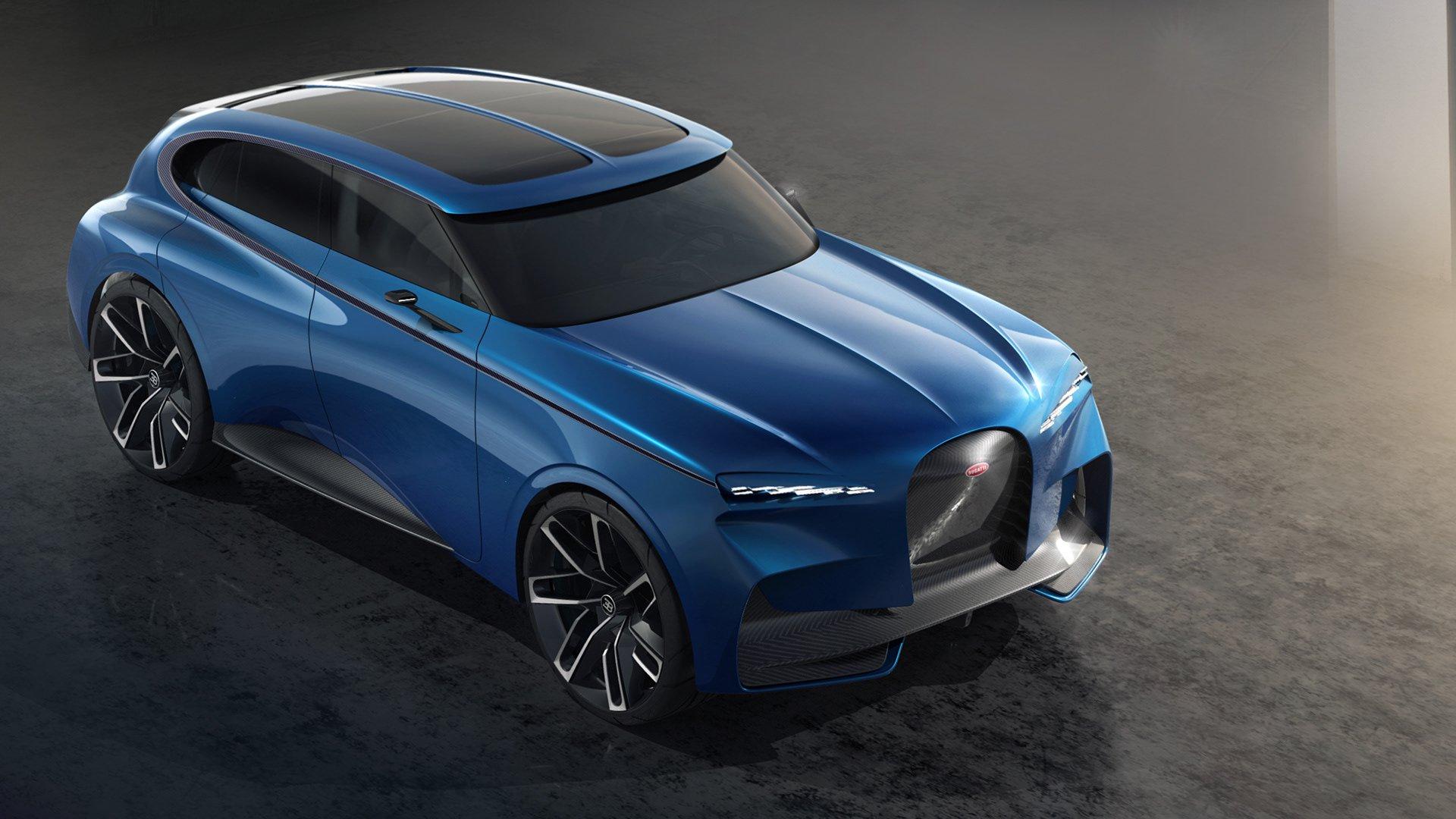 如果布加迪也制造SUV 会是什么样子