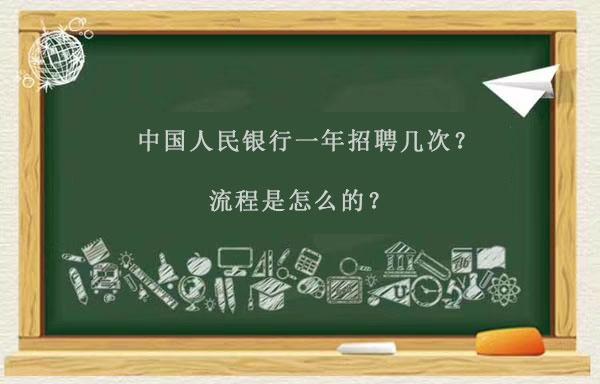 中国人民银行招聘一年几次?流程是怎么的?