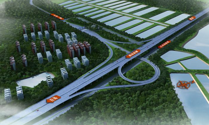 """青岛胶东国际机场""""咽喉工程""""——新机场高速TJ2标段月底主线贯通"""