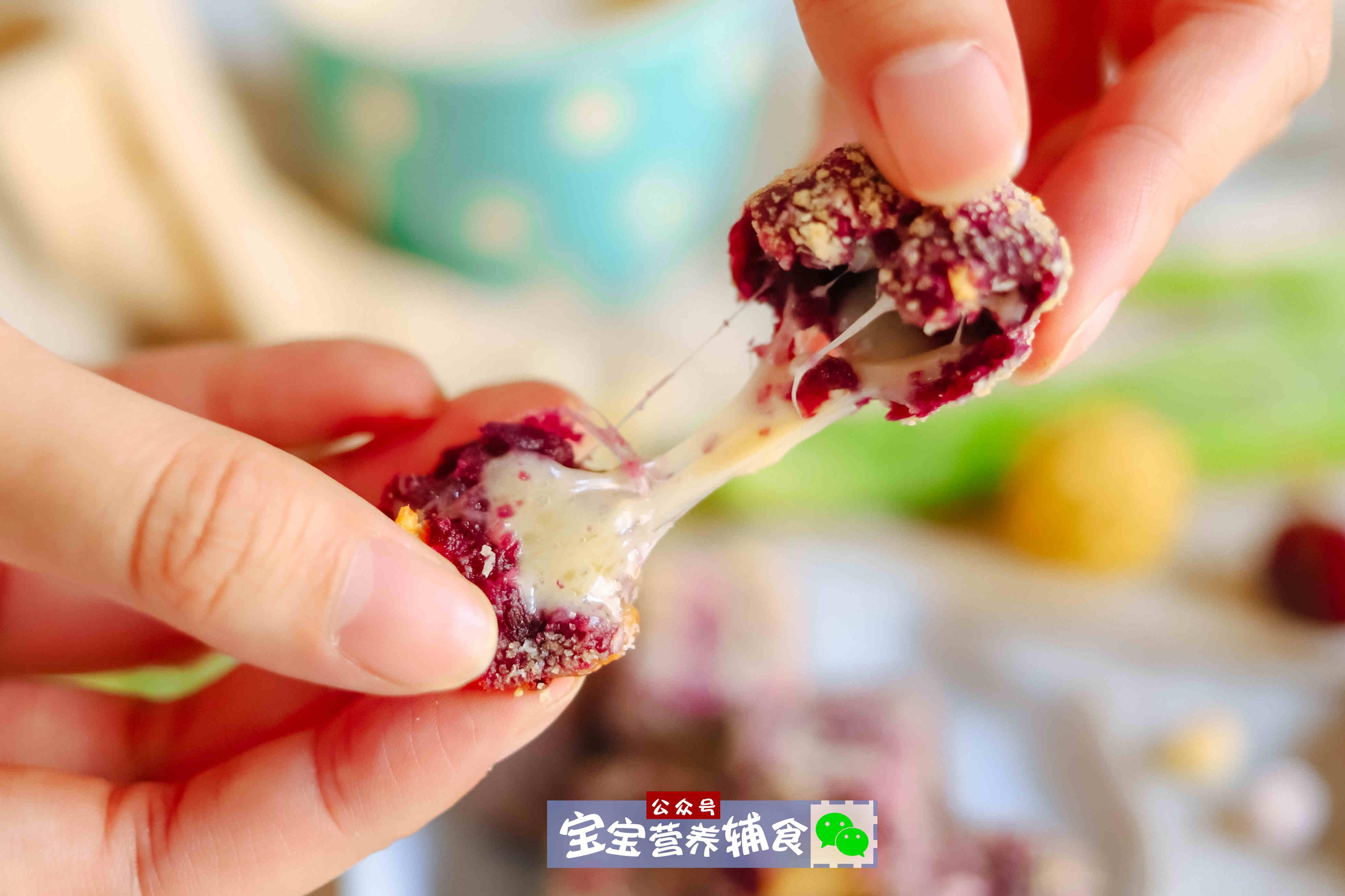 美食-免费yoqq紫薯爆浆燕麦方~宝宝辅食yoqq资源(4)