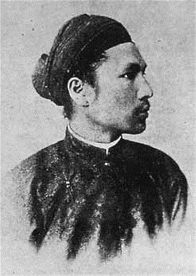 历史-越南阮朝王室相册,维新国王是个孩子,阮朝大臣是个华人(2)