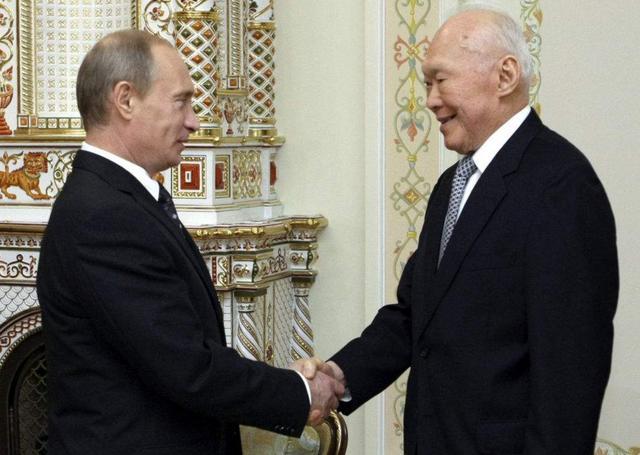 李光耀:永远不要觉得俄罗斯会一蹶不振,别怀疑这个民族的大国梦