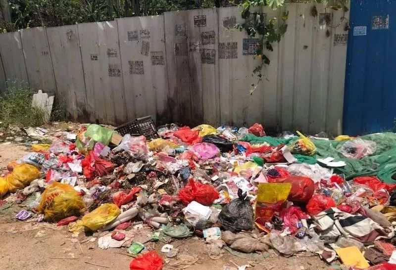 <b>龙川这个地方堆放、焚烧垃圾,?导致空气受到污染…</b>