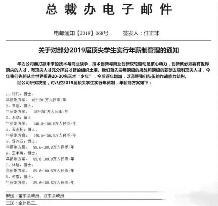 华为 200 万元聘应届生,实力诠释:知识就是年薪!