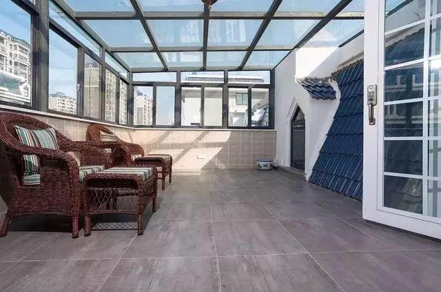 复式顶楼、阳光房,露台这样装,舒服漂亮!