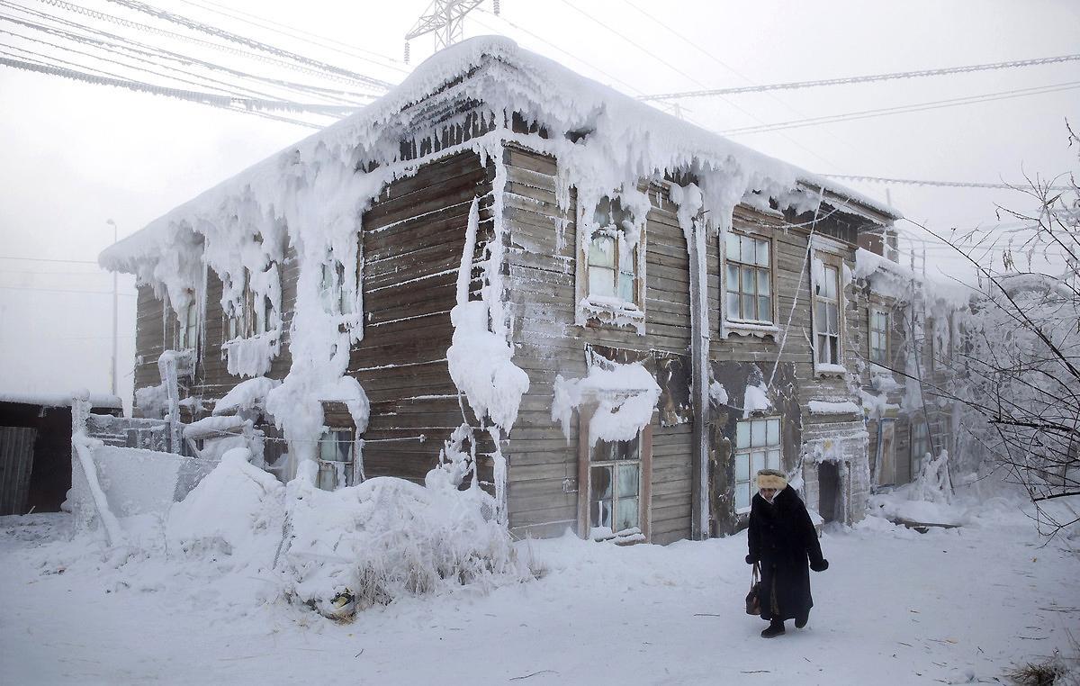 """世间最""""冻人""""的地方:刚吐出的空气立马变冰块,百岁老人很多"""