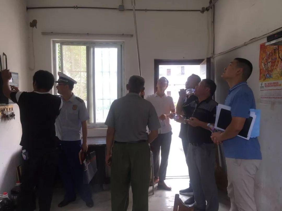 石台县消防救援大队联合多部门开展敬老院消防安全专项检查